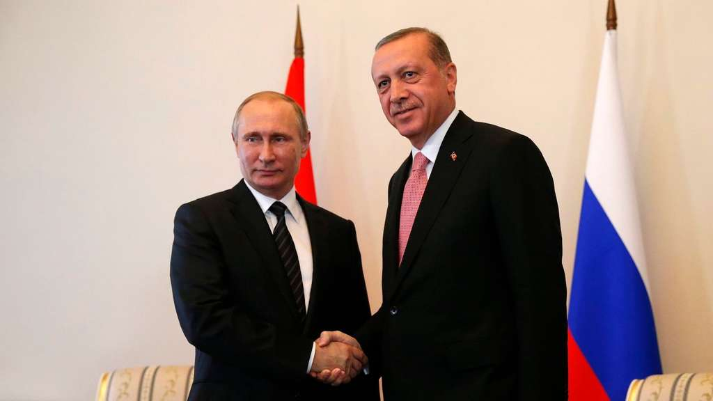 Turkish President Recep Tayyip Erdogan and Russian President Vlad