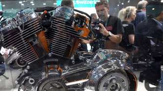 Harley Davidson mit neuem Motor Milwaukee-Eight
