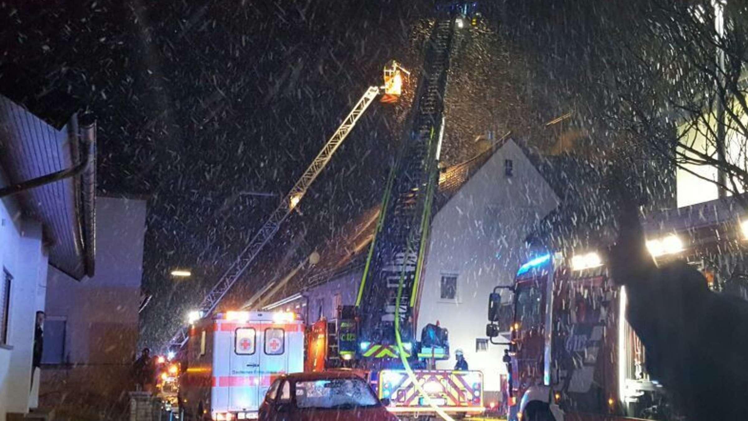 Feuer In Heilbronn Biberach Heilbronn