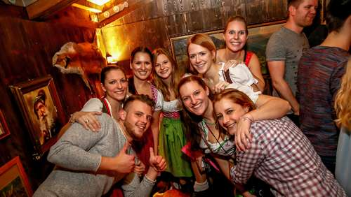 Wasn. Wiesn. Winterdorf. - Party-Bilder vom Samstag