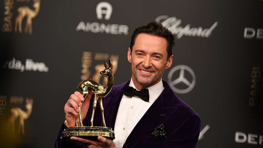 "Hugh Jackman erhielt im November den Bambi in der Kategorie ""Entertainment""."