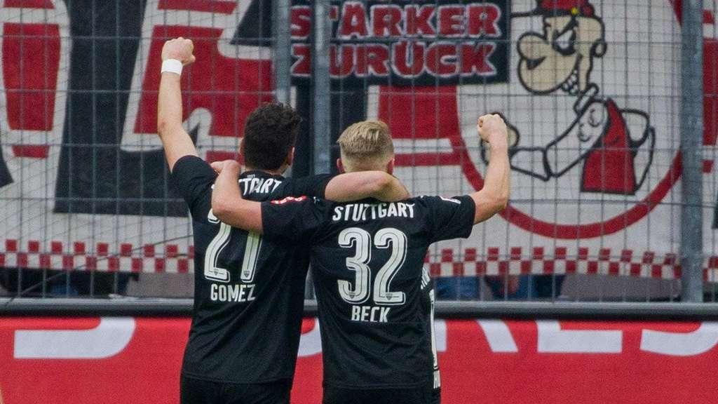 Glück und Mario Gomez: \