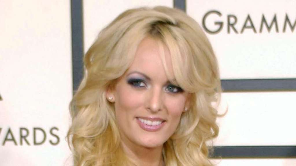 US-Pornodarstellerin Stormy Daniels 2008 bei den Grammy Awards. Foto: Chris Pizzello