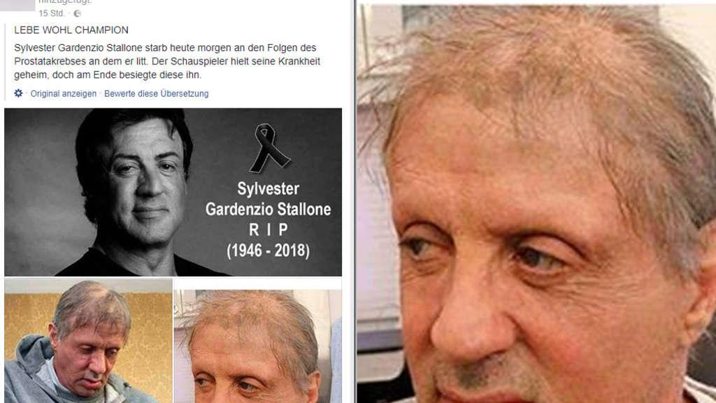 Sylvester Stallone Krankheit