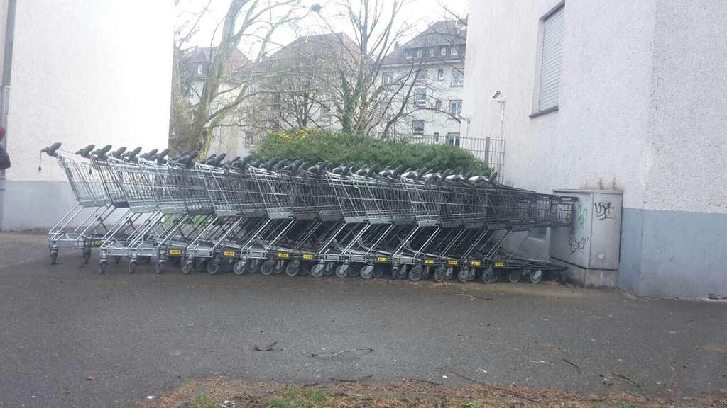 Unglaublich, wie Kaufland in Heilbronn auf sowas reagiert