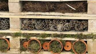 Insektenhotel Und Garten Regal Selbst Gemacht