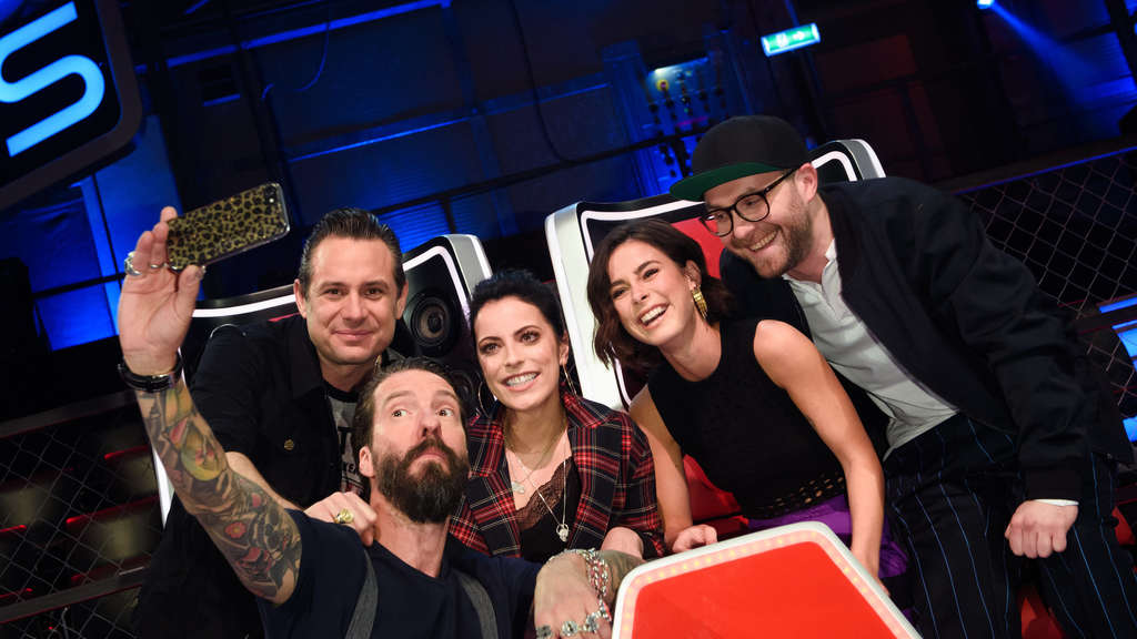 "Lena Meyer-Landrut (2.v.r.) ist Jurorin bei ""The Voice Kids""."