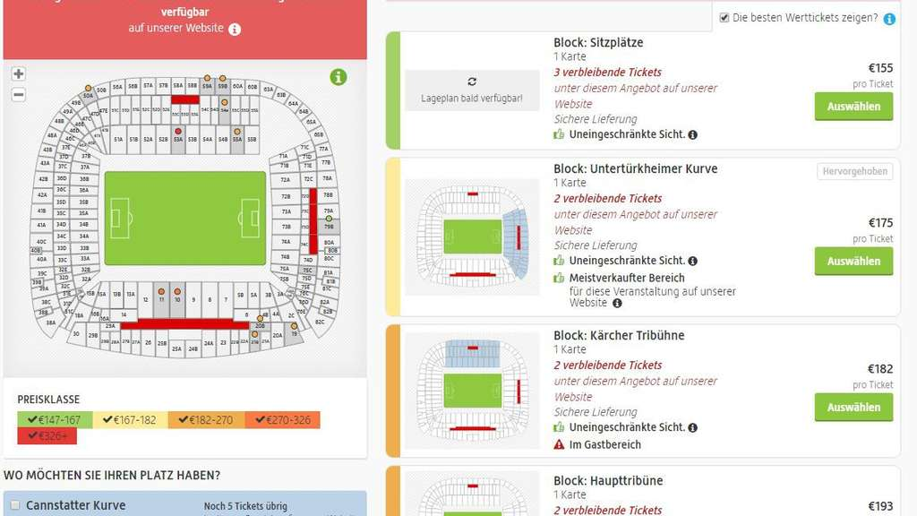 Ksc Tickets Preise