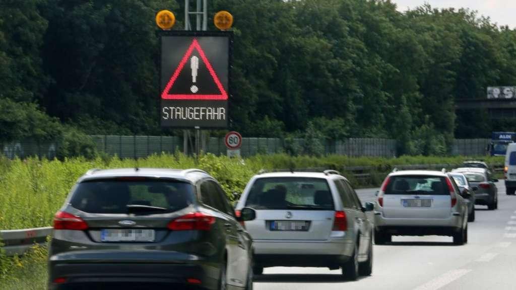 A7 Autobahn Stau