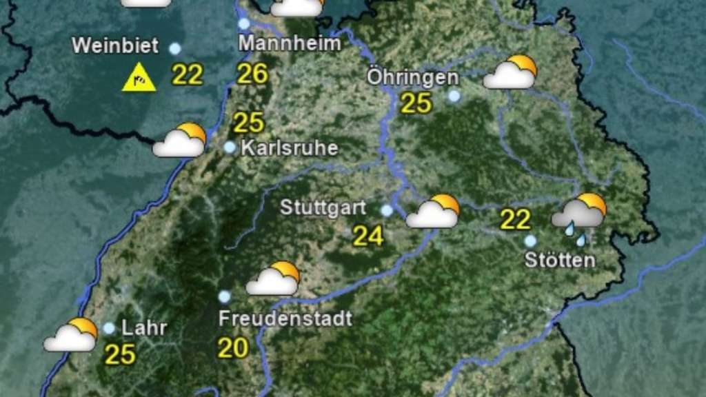 Baden Württemberg Wetter Aktuell