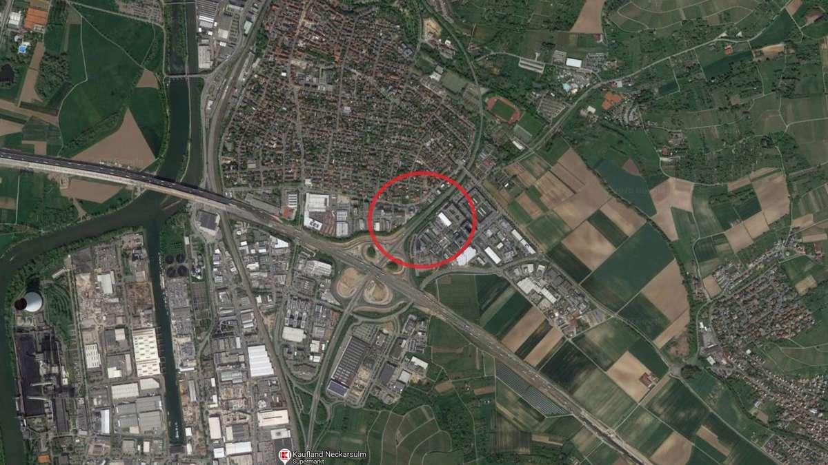 Heilbronn Stau