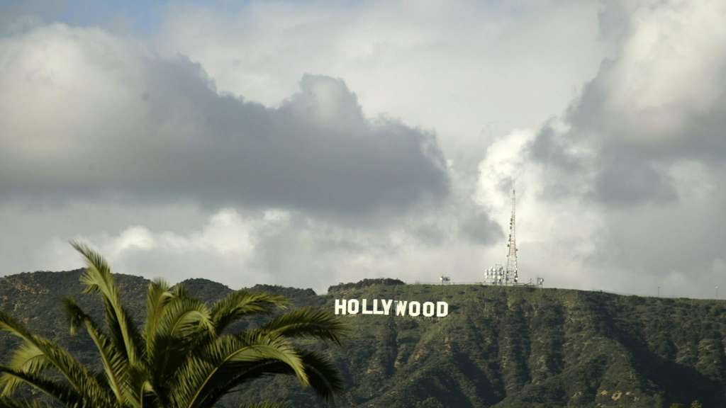 Das Hollywood-Sign thront über der Traumfabrik in Los Angeles.