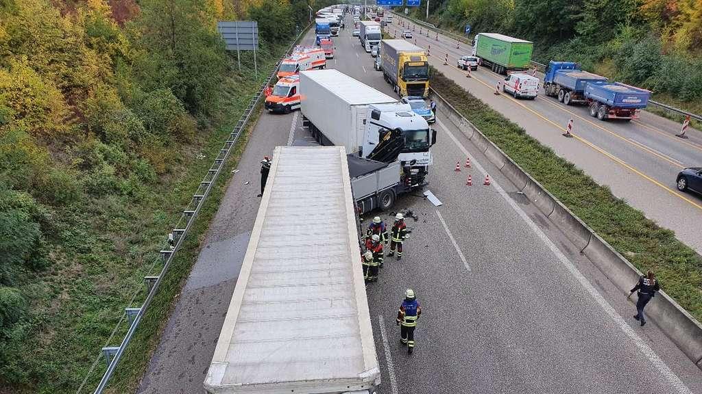 Autobahn Stau A6